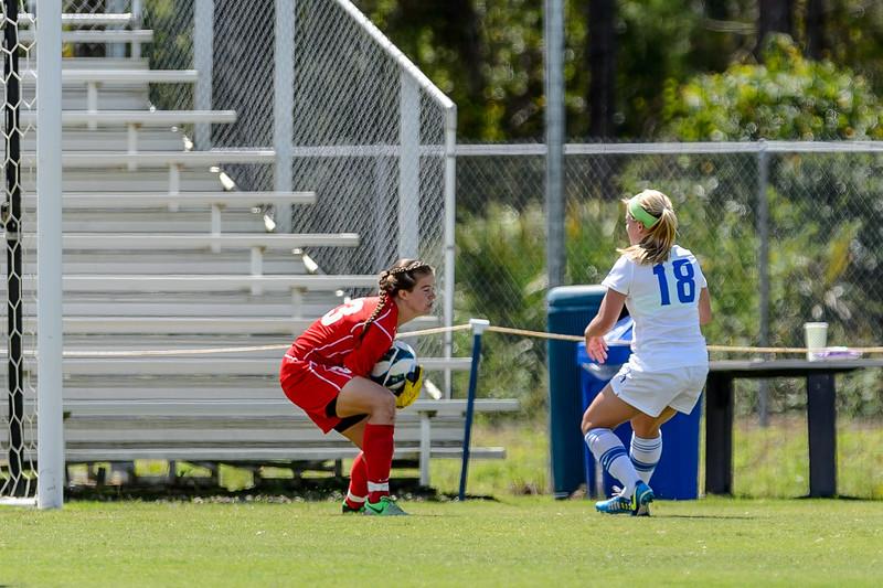 FGCU vs. University of North Florida Women's Soccer 09/29/2013