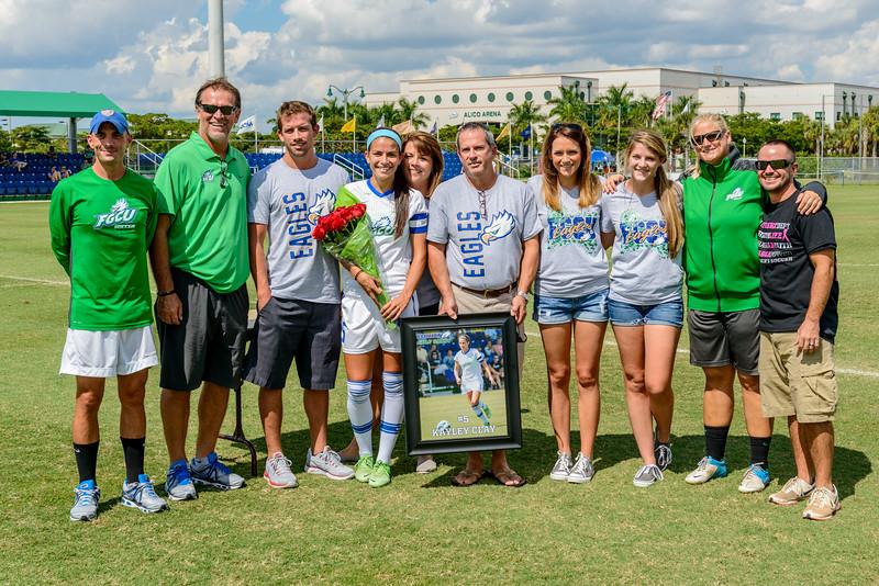 Senior Day, Women's Soccer 10/13/2013