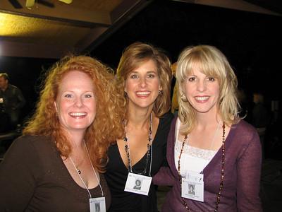 Becca Harrison, Heather Covington, and Anne Crowne