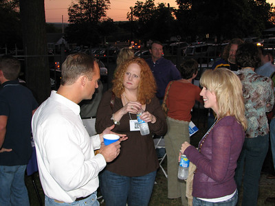 Jeff Wall, Becca Harrison, and Anne Crowne