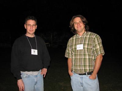 John Glezen and Chip Martin
