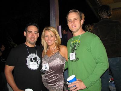 Jason Robinson, Pam Davis, and Rick Upton