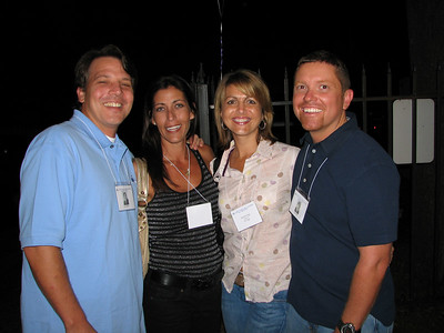 Jim and Stacey Miller, Jennifer and Ed Page