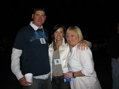 Matt Powell, Kara Laufer, and Ruth Shields