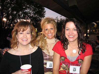 Alison Stuart, Kathie Neff, and Kathleen Day