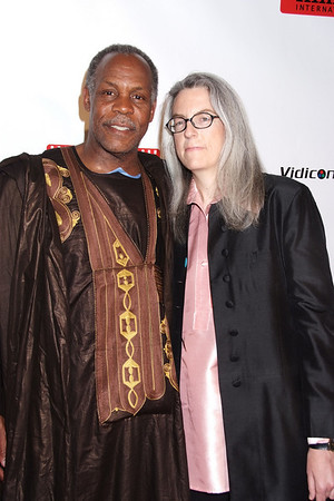 Danny Glover,Joclyn Barnes photo by Rob Rich © 2008 robwayne1@aol.com 516-676-3939