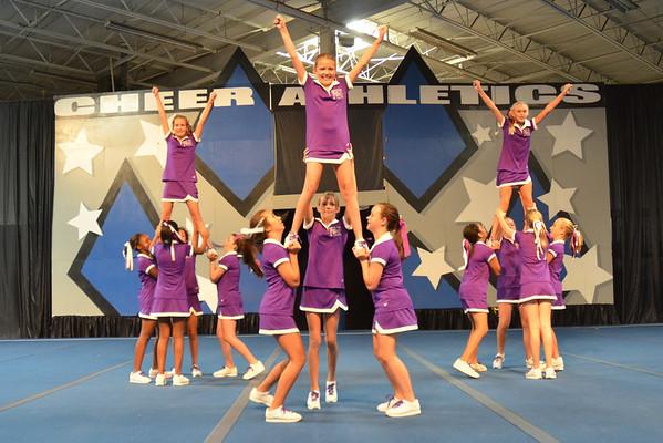 FMJH Cheer Camp Performance - Aug. 3, 2011