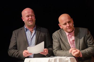 Gjøvik kulturhus 01/11/2013  FREDAGSREVYEN - et skråblikk på Gjøvik akkurat nå   Foto: Jonny Isaksen