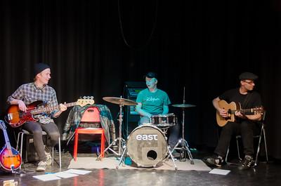 Gjøvik kulturhus 04/04/2014   FREDAGSREVYEN - et skråblikk på Gjøvik akkurat nå   --- Foto: Jonny Isaksen