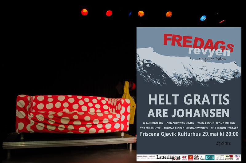 Gjøvik kulturhus 29/05/2015 <br />  FREDAGSREVYEN
