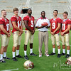 The 2011 FSU Quarterbacks pose for their photo during Media Day at Doak Campbell Stadium on August 14th.