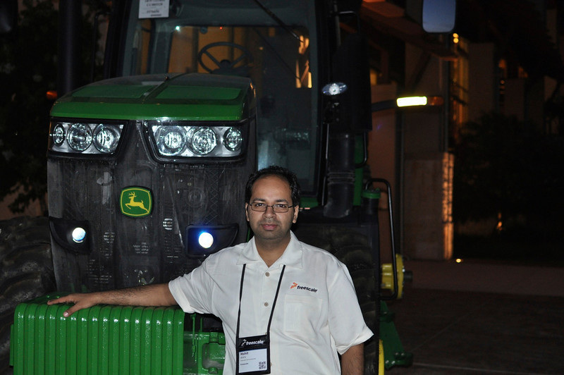 High-tech tractor powered by Freescale i.MX navigates FTF