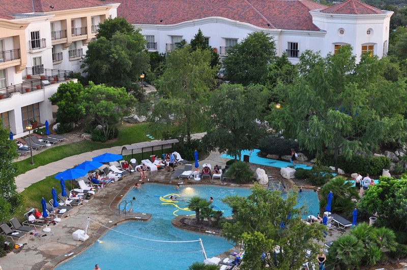 Westin La Cantera Swimming pool.
