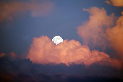 FULL BUCK MOON-SUPER MOON 7/11/2014