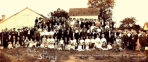 FUMC 1911 Sanctuary Groundbreaking