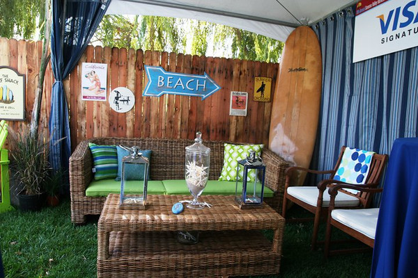 Beach Cabana Furniture Lounge