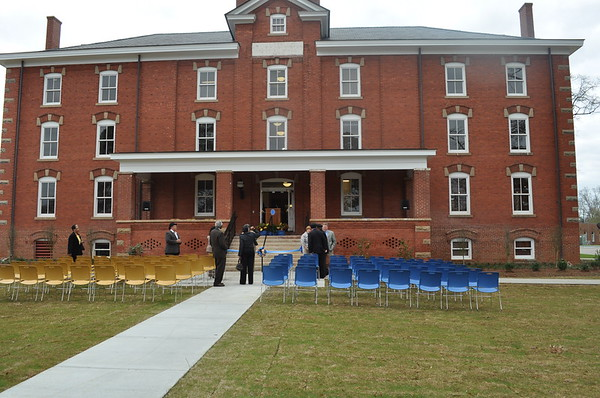 Huntington Hall Ribbon Cutting