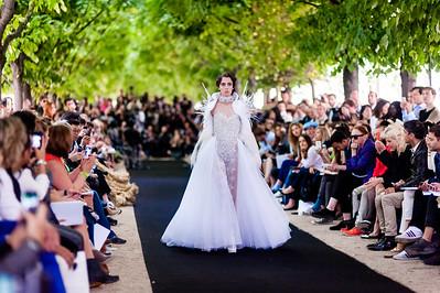 Fashion Week Paris Haute Couture 2014 - Ana Quasoar / On Aura Tout Vu / Legends by Bilal Barrage / Zuhair Murad / Eymeric Francois / Svetlana Kushnerova