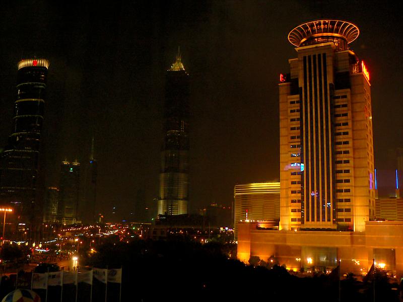 Night shot from my hotel window.