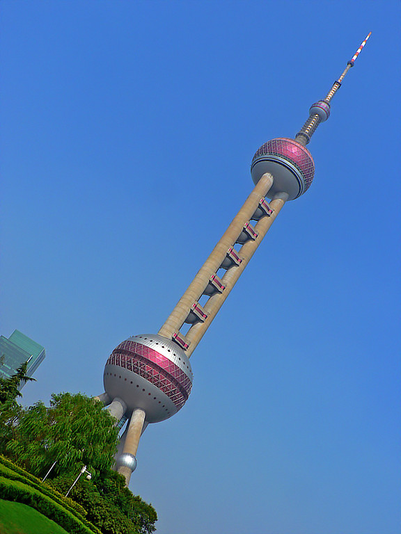 Another Pearl TV tower view from the park.