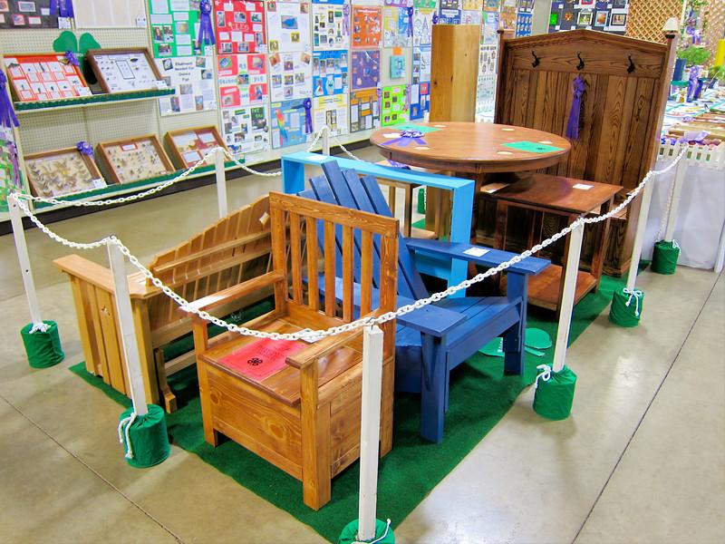 Woodworking<br /> Elkhart County 4H Fair 2012