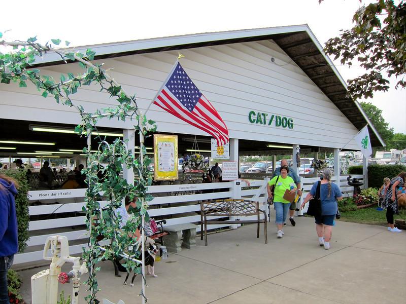 Miscellany - Cat/Dog Barn<br /> Elkhart County 4H Fair 2012