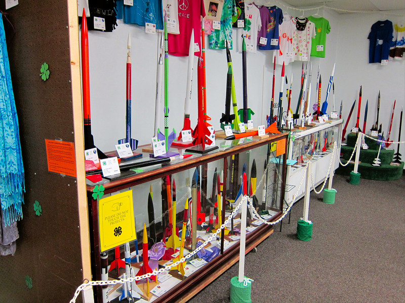 Model Rockets<br /> Elkhart County 4H Fair 2012