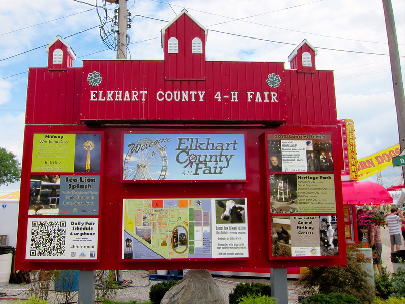 Elkhart County 4H Fair 2012 Entrance