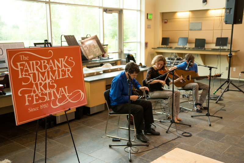 Fairbanks Summer Arts Festival performances.