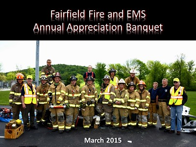 Fairfield Fire & EMS Banquet 2015
