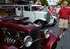 "Classis cars are inspected during the Fairmount Fire Company's ""Under The Lights"" Car Show along Main St in Lansdale on Saturday June 21,2014. Photo by Mark C Psoras/The Reporter"