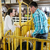 Don Knight | The Herald Bulletin<br /> Supreme Showmanship competition at the 4-H Fairgrounds on Thursday.