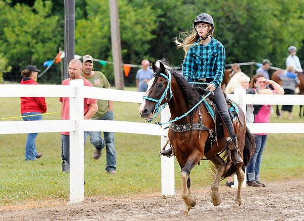Don Knight | The Herald Bulletin Horse and Pony show at the 4-H Fair on Saturday.