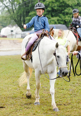 Don Knight   The Herald Bulletin<br /> Horse and Pony show at the 4-H Fair on Saturday.