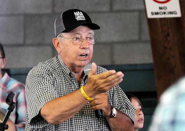 Don Knight | The Herald Bulletin<br /> Thursday at the 4-H Fair.