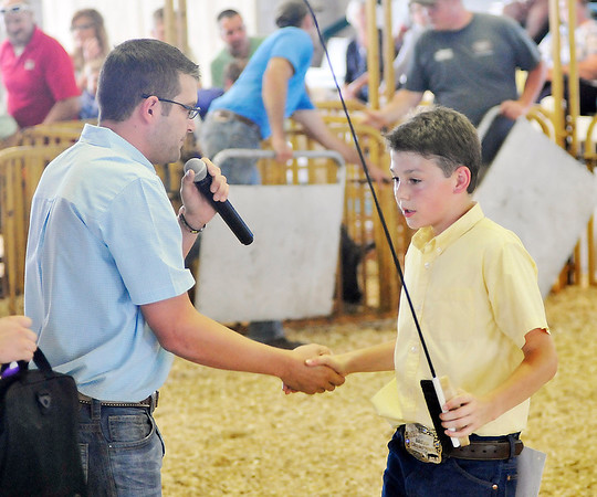 John P. Cleary    The Herald Bulletin<br /> Monday activities at the Madison County 4-H Fair.
