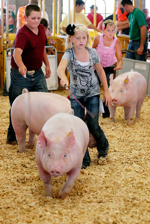 Monday at the Madison County 4-H Fair.