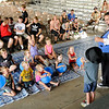 Don Knight | The Herald Bulletin<br /> Magic Matt performs at the Kiwanis stage during the 4-H Fair on Wednesday.