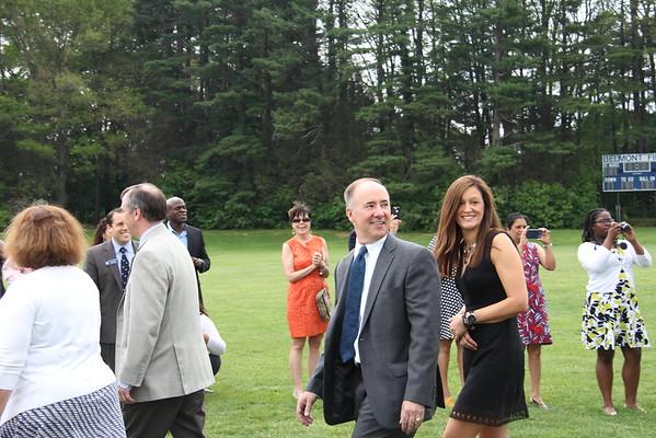 Faith's Graduation from St. Mark's 2015