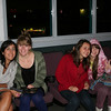 Marbella, Juliane, Renata, and Olha at the Reel Theater, where we actually saw a movie.