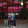 Julian, Marilena, Lukas, and Cat at Edwards Theater