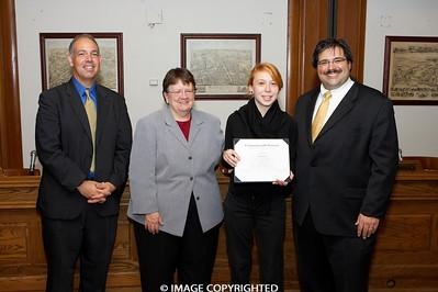 Nov. 18, 2008. Boston, MA. Commonwealth Seminar Graduation.