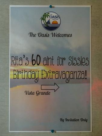 Rita Gould 60th Bday