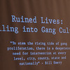 An Eagle Scout Project by Albert L. Ivory, Jr: : Ruined Lives: Falling Into Gang Culture