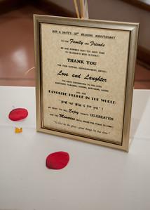 Dave & Ann's 50th Wedding Anniversary