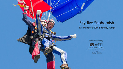 Munger's Skydive Snohomish - Video