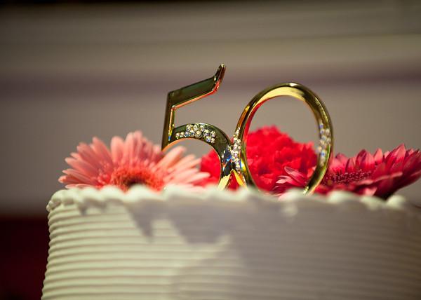 50th Wedding Anniversary - 8788