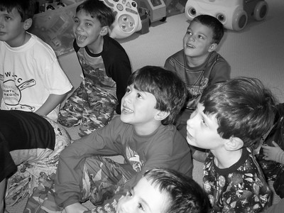10 Years Ago - Jacob's 7th birthday party