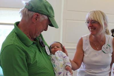 Pat & Mary Lou McGrath with Parker Violet