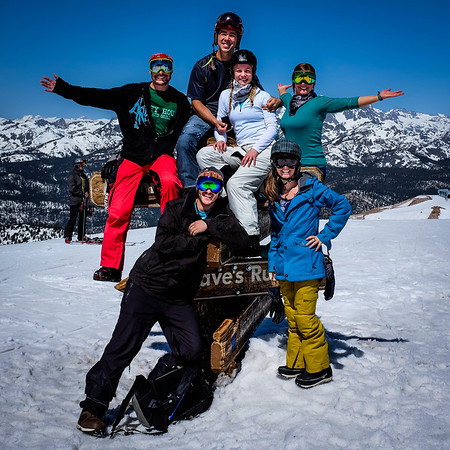 Mammoth Mountain Top of The Sierra Group photo